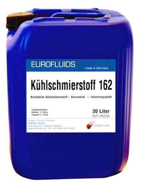 Eurofluids Kühlschmierstoff 162 | 20-Liter-Kanister