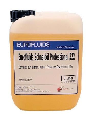 Eurofluids Schneidöl 322   5-Liter-Kanister