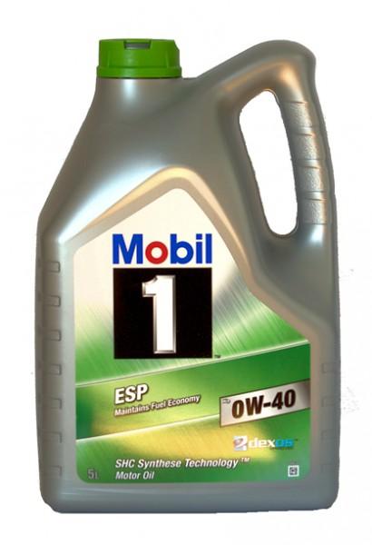 Mobil 1 ESP X3 0W-40 | 5-Liter-Kanister