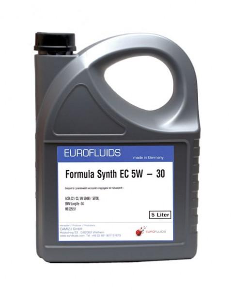 Eurofluids Formula Synth EC 5W-30 | 5-Liter-Kanister
