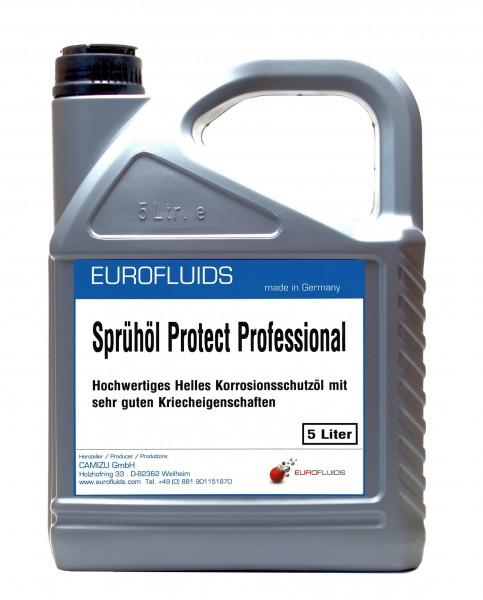Eurofluids Sprühöl Protect Professional | 5-Liter-Kanister