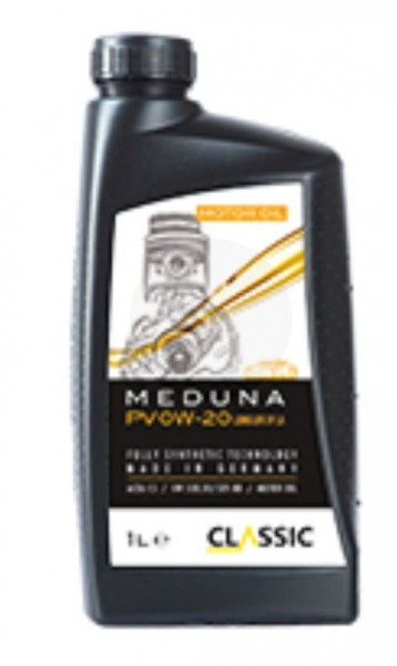 Classic Meduna PV 0W-20 Longlife IV LA / Karton mit 12 Stück 1-Liter-Dosen