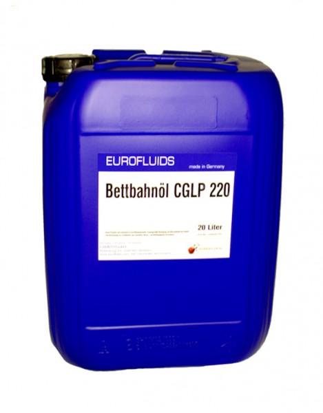 Eurofluids Bettbahnöl CGLP 220 | 20-Liter-Kanister