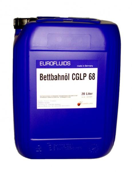 Eurofluids Bettbahnöl CGLP 68   20-Liter-Kanister