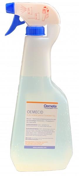 Oemeta Oemecid Flächendesinfektionsmittel | 1-Liter-Sprühflasche