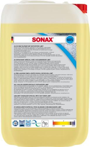 Sonax SchmutzLöser / WerkstattReiniger mit Enthärter | 25-Liter-Kanister