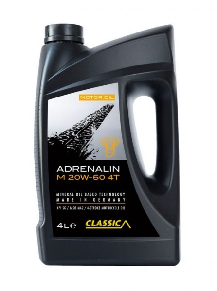 Classic Adrenalin M 20W-50 4T | 4-Liter-Kanister